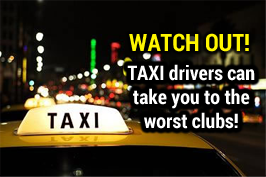 Watch out for taxi drivers!